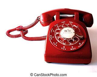 טלפן, אדום