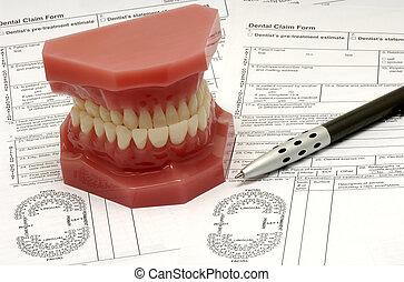 טעון, של השיניים