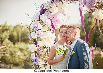 טקס של חתונה, צילום מקרוב