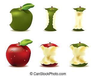 טרי, וקטור, תפוח עץ, מאוטוואטארינג