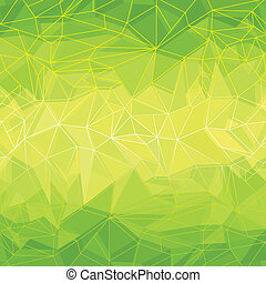 טרי, רקע ירוק