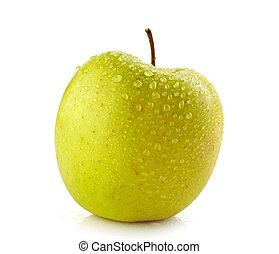 טרי, תפוח עץ, רטוב