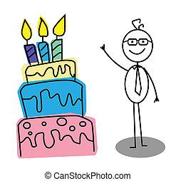 יום הולדת, איש עסקים