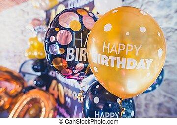 יום הולדת, בלונים, מפלגה