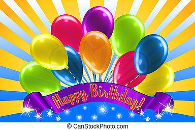 יום הולדת, עלית שמש, שמח