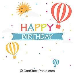 יום הולדת, רקע, חגיגה