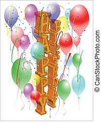 יום הולדת, שמח, כרטיס