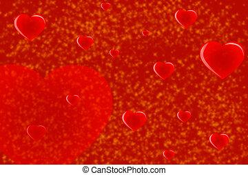 יום של ולנטיין, אדום, background-01