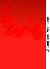יום של ולנטיין, אדום, background-07