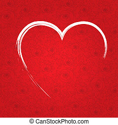 יום של ולנטיין, לב אדום