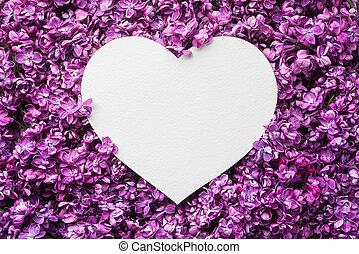 יום של ולנטיין, רקע, עם, קישוטי, לב
