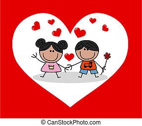 יום של ולנטיינים, אהוב, חגיגה
