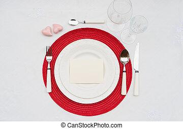 יום של ולנטיינים, ארוחת ערב