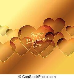 יום של ולנטיינים, לבבות, רקע