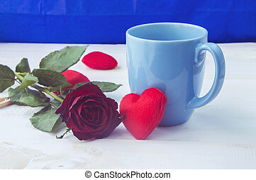 יום של ולנטיינים, לב, רקע