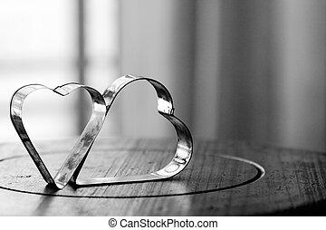 יום של ולנטיינים, רקע, עם, לבבות