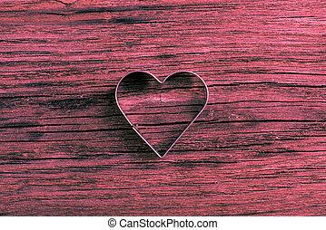 יום של ולנטיינים, רקע, עם, לב