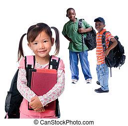 ילדות של בית הספר
