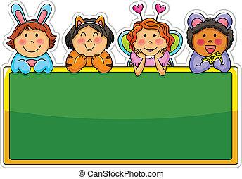 ילדים עליזים