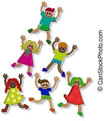ילדים, שיתוף פעולה, 3d