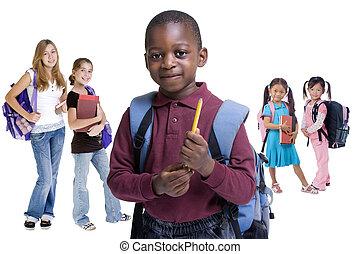 ילדים של בית הספר, גוון
