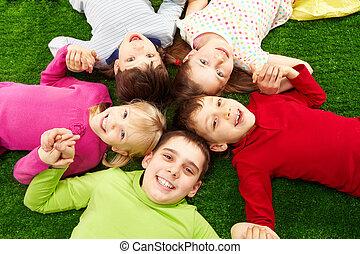 ילדים, שמח