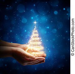 ילד, קסם, חג המולד, העבר