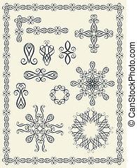 יסודות, calligraphic