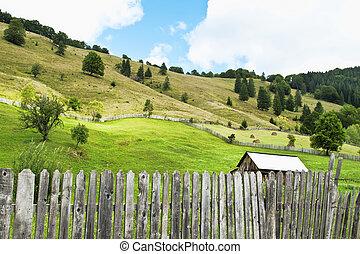 יפה, איזורי כפר, נוף