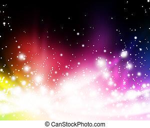 יפה, בהיר, צבעוני, תקציר, אורות, מואר