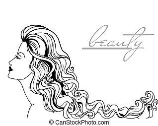 יפה, דמות, אישה, צעיר