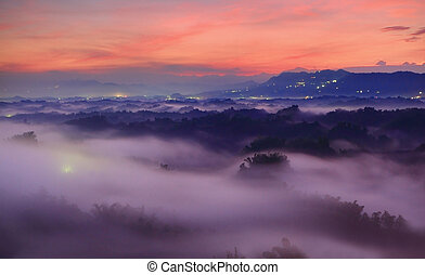 יפה, הרים, ו, ענן