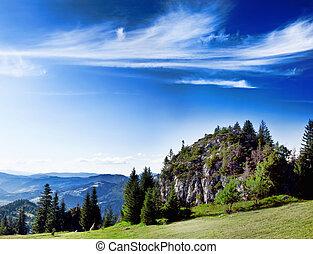 יפה, נוף של הר