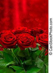 יפה, ריח, ורדים אדומים