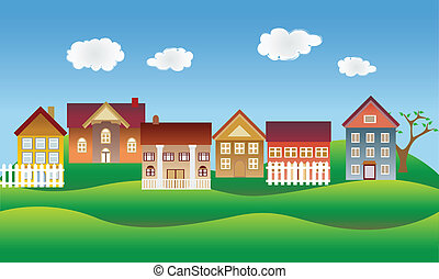 יפה, שכונה, או, כפר