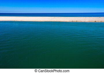 יפה, שמיים כחולים, אוקינוס