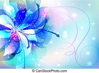 יפה, תקציר, פרחים, רקע