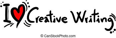 יצירתי, אהוב, לכתוב