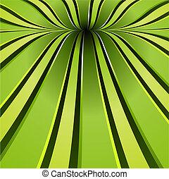 ירוק, הסתבב, רקע