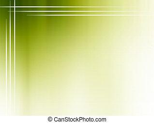 ירוק, טשטש