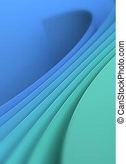 ירוק כחול, רקע