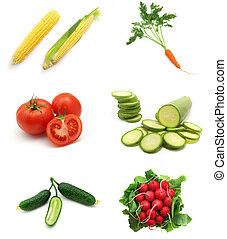 ירקות, אוסף
