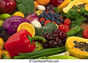 ירקות, ו, פירות
