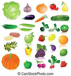 ירקות, ו, פרי