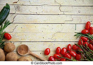 ירקות טריים, אורגני