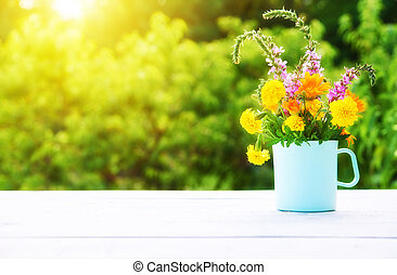 ירק, חפון, ריח, מעץ, רקע, פראי, שולחן, פרחים