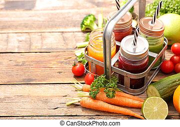 ירק, סגנון חיים, drink-, אדם חלקלק, בריא