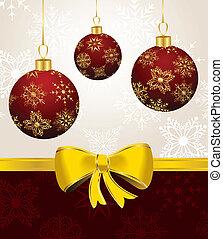 כדורים, חג המולד, רקע