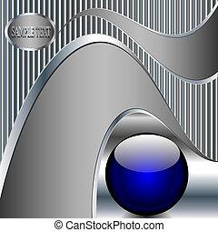 כדור כחול, תקציר, מתכתי, רקע, טכנולוגיה