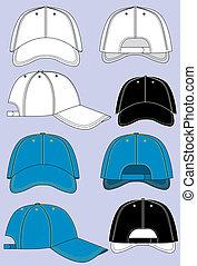 כובעים של בייסבול